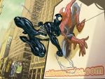 SPIDERMAN: Black suit by AndreaCelestini