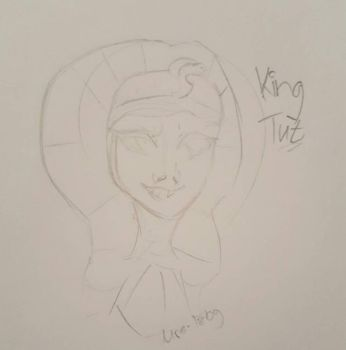 King Tut  by Mrs-Izby