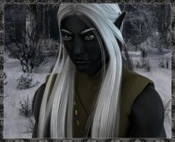 Winter Drow by DrowElfMorwen