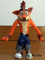old crash bandicoot by fizzreply