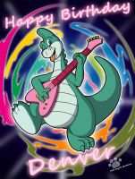 Denver The Last Dinosaur Birthday by Coshi-Dragonite