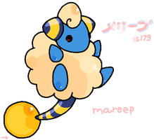 Mareep by drill-tail