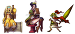 MH4U Stickers by Pechan