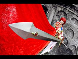 Magic Knight Rayearth - Revive, Hikaru's Sword! by taga-gloria