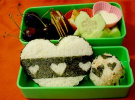 Heart Bento by mindfire3927