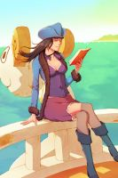 Nico Robin one piece by Hello-Morphine