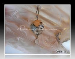 'My Guardian', handmade sterling silver pendant by seralune