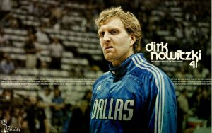 Dirk Nowitzki Finals Wallpaper by Angelmaker666