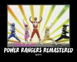 MMPR Remastered WTF? by PyroDarkfire