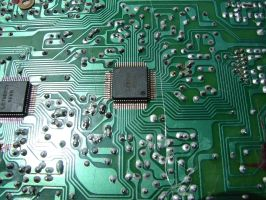 Electronic Circuit Board 1 by FantasyStock