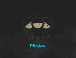 Ninjas! by SyntheticsArt