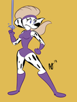 Ms. Saturn New Design by ojcartoons