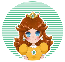 Super cutesy Daisy by CelestialOctopi