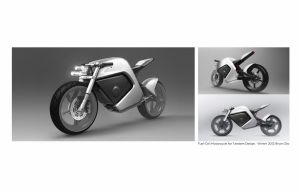 Fuel Cell Motorcycle by baumhan
