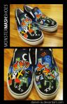 MONSTER MASH SHOES by daniel-w
