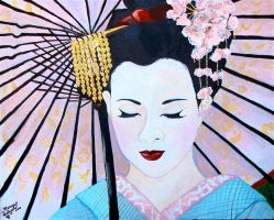 The Beauty Of A Geisha by MidnightPhoenixx