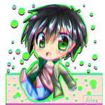 Chibi Alex by izzym19