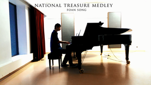 National Treasure Piano by fofo128