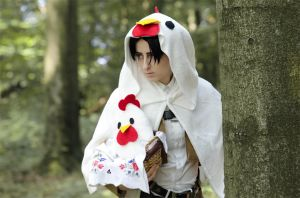 Shingeki no Kyojin: Lawson Chicken Levi by Green-Makakas