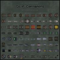 ECF - Sci-Fi Containers by Neyjour