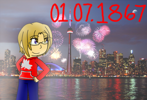 [APH]Canada's Independence Day by poi-rozen