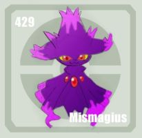 429 Mismagius by Pokedex