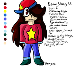 .:Persona Ref Sheet:. by StaceyU101