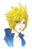 Cloud Strife by TheLizAngel