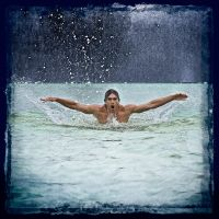 the swimmer by poivre