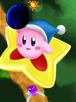 Bomb Kirby by AzureShinobi