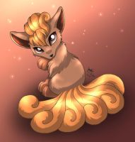 Beautiful Vulpix by Joakaha