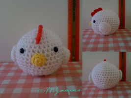 Amigurumi Chick (FREE Pattern in Description) by PokeMasterJaques