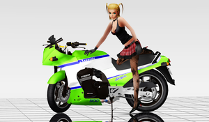 Bike Girl (Download) by ChochoYatori