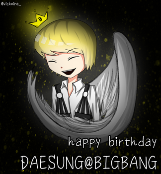 happy birthday daesung by emoMaka