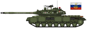 IS-15U Heavy Main Battle Tank by Lord-Vanaduke