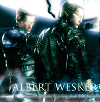 Wesker. by InfectedTragedy