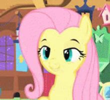 FlutterShy Squee GIF by AmberDriscoll