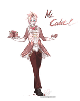 mr cake by alpacasovereign