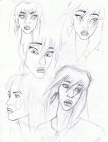 Kida Sketches by MyWorld1