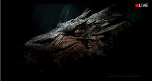Smaug LIVES ( caught on camera ) by DayDreamPrincess