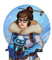 [Overwatch] Mei by Byolith