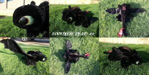 Toothless Plush #2 by Sketching-Sketches