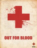 Red Cross Out for Blood ad by mostlymade