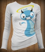 Demon-Angel Shirt by Karbacca