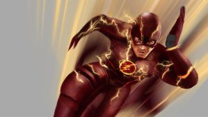 Flash Real by Hawkmccloud