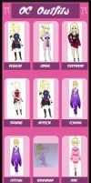 Kori Byakko: Outfits by Almost---There