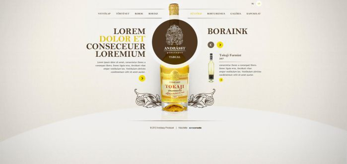 winery brand site plan by arkantal