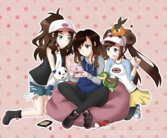 Playing Pokemon by Sniggle-Wiggle