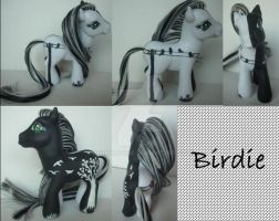 My little Pony Custom G3 Birdie by BerryMouse