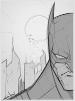 Batman sketch by Sarcix82